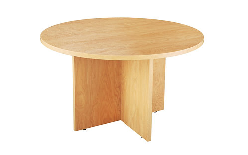 1000mm Diameter Meeting Room Table (DxH) 1000x730mm