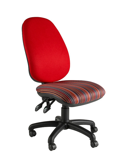Deluxe twin lever operator chair