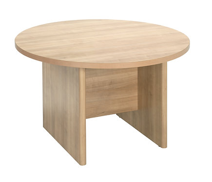 E Space Executive Circular Meeting Table Cappuccino