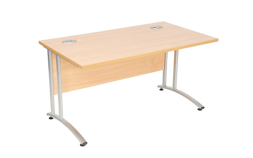 Endurance 1000mm Rectangular Desk (WxDxH) 1000x600x730mm
