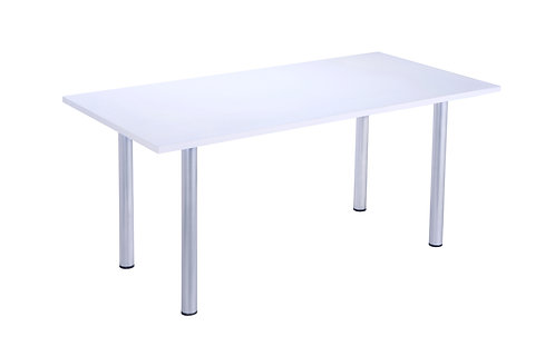 White Meeting Table (WxDxH) 1600x800x730mm