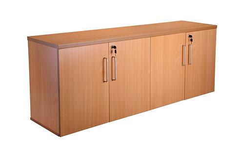 Four Door Credenza Unit With 2 Shelves (WxDxH) 1800x450x730mm