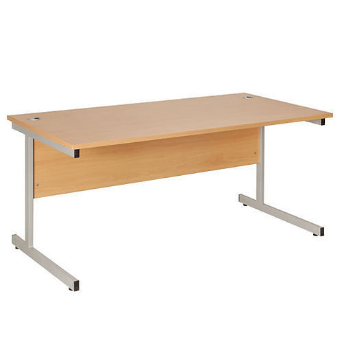 Fraction 1600mm Rectangular Workstation