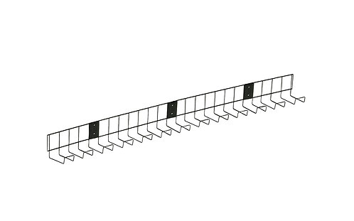 Universal Cable Tray With Fixings (WxDxH) 1000x60x100mm