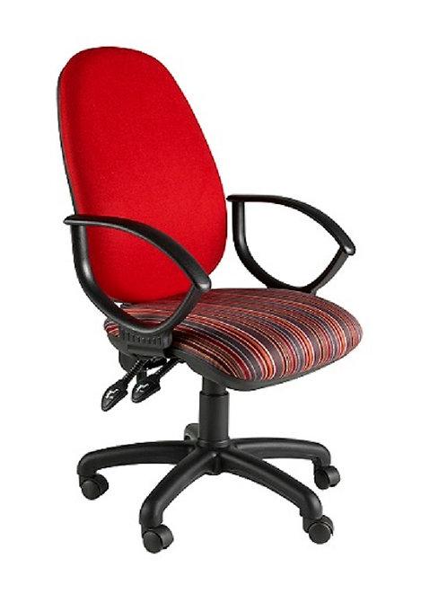 Deluxe twin lever operator armchair