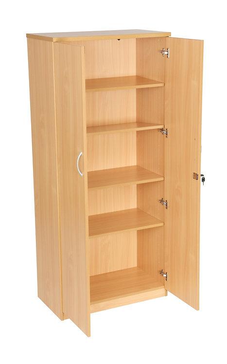 1800mm High Double Door Cupboard With 4 Shelves (WxDxH) 800x450x1800mm
