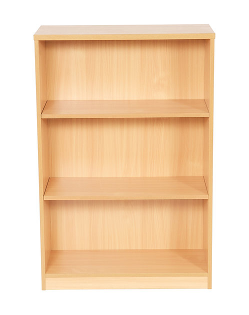 1200mm High Bookcase With 2 Shelves (WxDxH) 800x360x1200mm