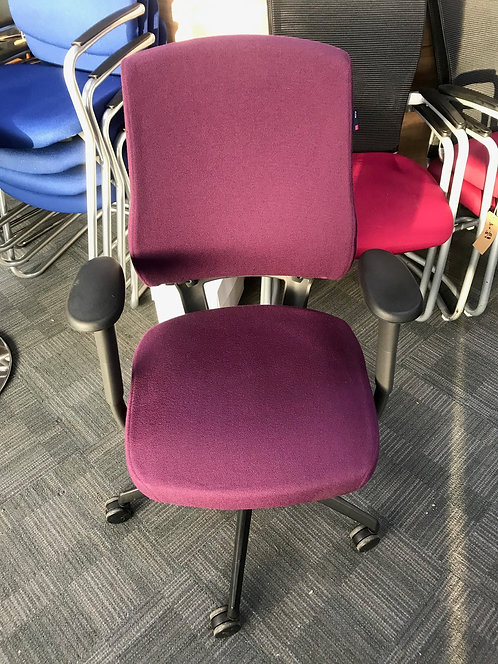 BMA Axia ProFit purple operator armchair