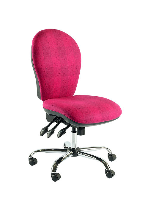 Round back task chair