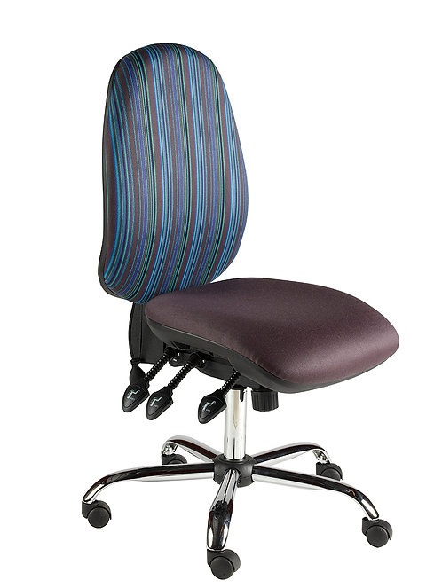 Large back task chair