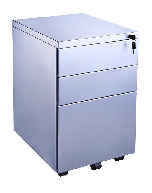 3 Drawer Metal Mobile Pedestal (WxDxH) 300x500x650mm