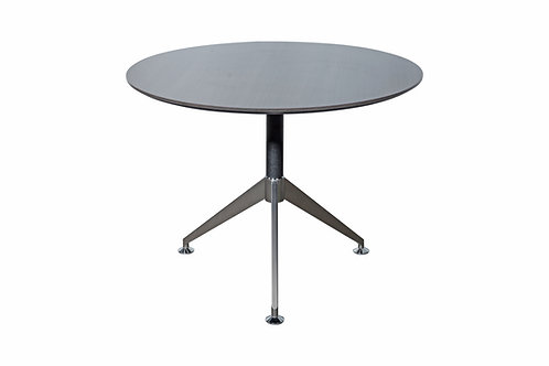 Nero Executive 1000mm Diamater Meeting Table Anthracite (DxH) 1000x750mm