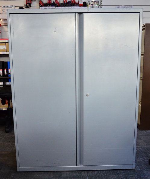 GREY 2 Door Steel Cupboard