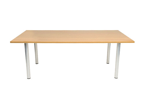 Rectangular Meeting Room Table (WxDxH) 2000x1000x730mm