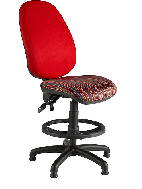 Deluxe twin lever draughtsman chair