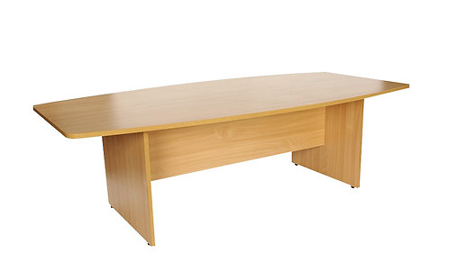 Boat Shaped Meeting Table (WxDxH) 2400x1200x730mm