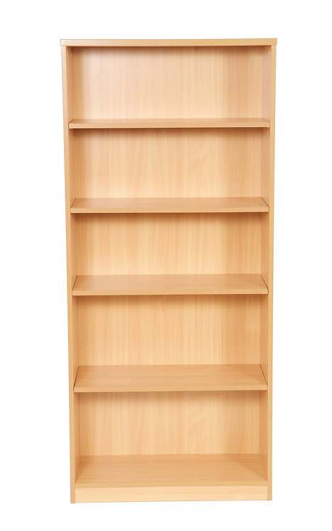 1800mm High Bookcase With 4 Shelves (WxDxH) 800x360x1800mm