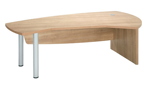 E Space Executive Right Hand Desk Cappuccino