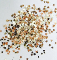 Starfall Glitter Makeup (Gold and Black)