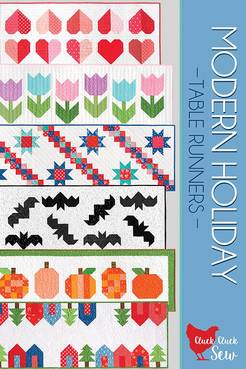 Cluck Cluck Sew Pattern -Modern Holiday