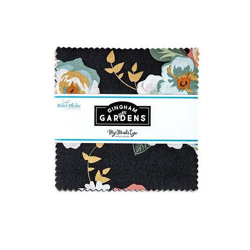 "Gingham Gardens by Riley Blake - 5"" Stacker"
