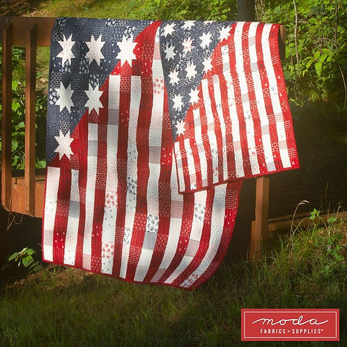 Our Flag Stands for Freedom Kit by Moda