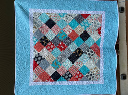 """SOLD!!!  Baby Quilt - """"On the Farm"""""""