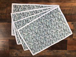 SOLD!!!  Reversible Quilted Placemats - Set of 4