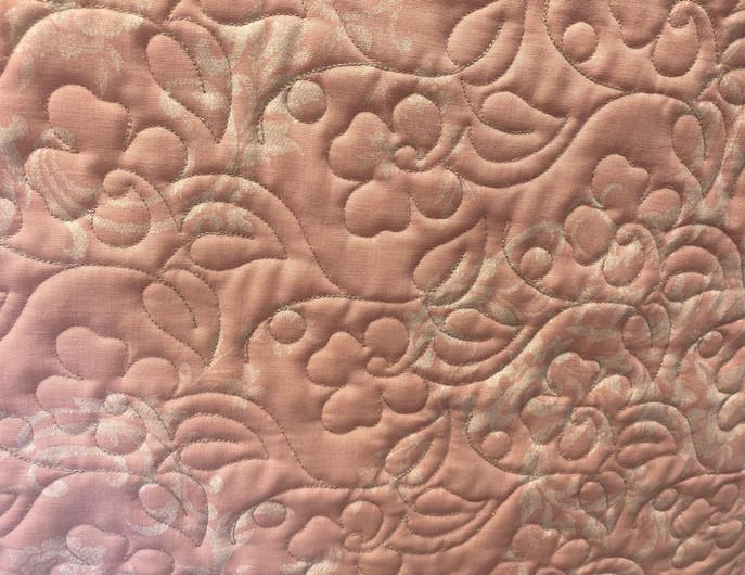 Flower Pattern on Suzi Rourke's Quilt
