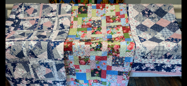 Pieced by Suzi Rourke and Quilted by Fork Mtn Quilting