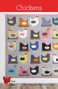 Cluck Cluck Sew Pattern - Chickens