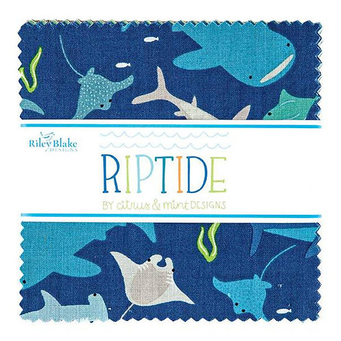 "Riptide 5"" Stacker by Riley Blake"