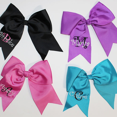 Hair Bows With Name