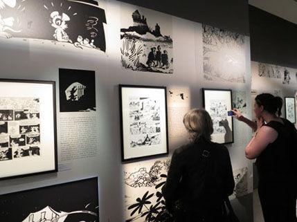 """Golden Age of Belgian Comics"" fair in Paris"