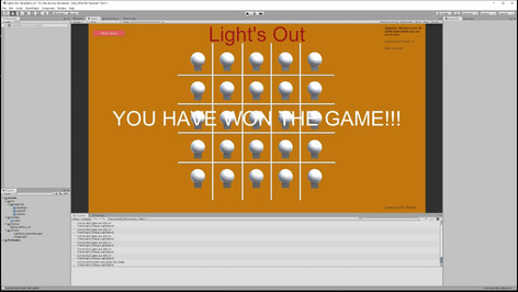 Lights out implementation Overveiw