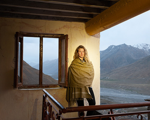 LouLou from AUSTRALIA in SPITI