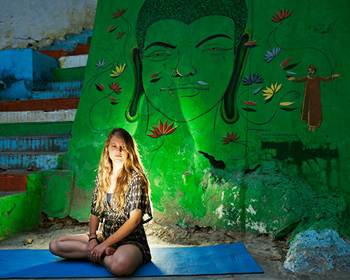 Roni from ISRAEL in RISHIKESH