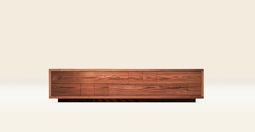 """02문갑_류 the stationery chest of drawers """"RYU"""" 1982(W) × 428(D) × 440(H).jpg"""