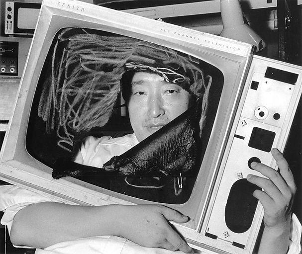 6.Nam June Paik in his Studio, New York,