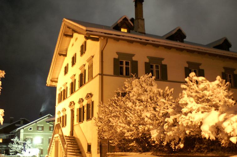 Haus Buol Bergün, Winter