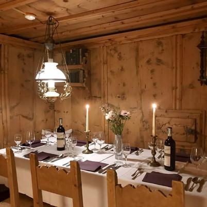 Tschaina - Abendessen