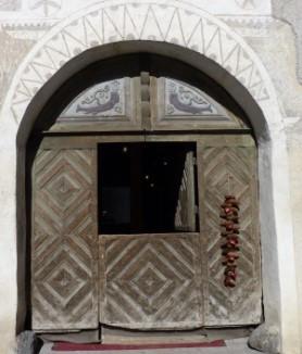 Türe zum Museum Bergün