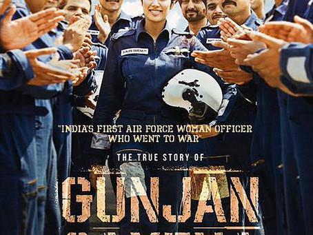 Netflix's Gunjan Saxena: The Kargil Girl Review: A Perfect Women Empowerment movie.