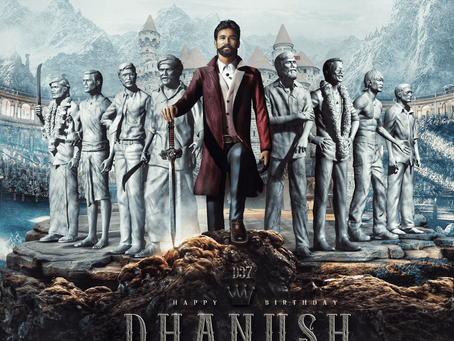 Happy B' day Dhanush-The Star kid who worked Harder than others