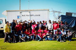Acts of Love team and volunteers