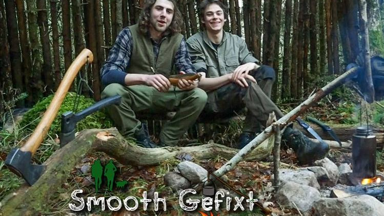 Bushcraft Workshop with the Smooth Gefixt You-tubers