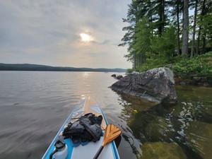 Paddling On Long Lake