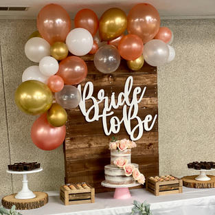 Bride to be cut out