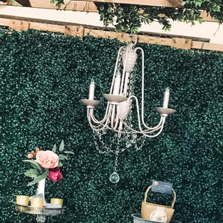 Champagne Chandelier 1 available $45