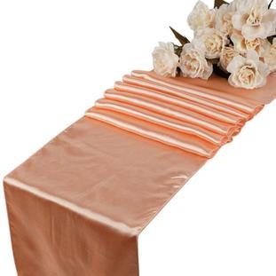 Peach Table Runner